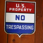 The same old sign that was put on the Lillie Moore home.