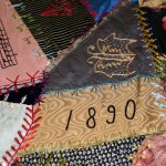 The quilt was made in 1890.